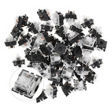 70PCS Pack 3Pin Gateron White Switch Keyboard Switch for Mechanical Gaming Keyboard