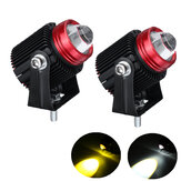 1Pair 20W 9-30V IP65 6500K LED Work Light Spotlight Driving Fog Lamp for Off-road Truck Boat