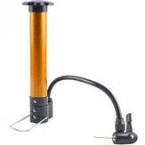 BOYUEDA Mini Bicycle Pump Portable High Pressure Hand Pump Mountain Bike Tire Football Basketball Inflate