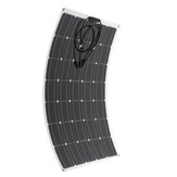 21V 120W Flexible Solar Panel Mono Caravan Boat Camping Home Battery Charge