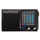 Portable complet Bande Radio FM haut-parleur stéréo MW récepteur radio récepteur ondes courtes