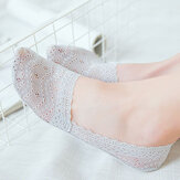 Women Girl Summer Lace Breathable Non-slip Boat Socks