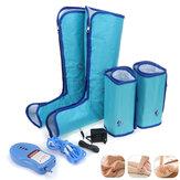 Noha Elektrická masážní vzduchová kompresní cirkulace Relaxace 10 režimů Lýtkové nohy Stehenní masáž Ankles Relief Pain
