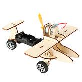 DIY электрический самолет для руления научная экспериментальная технология детские игрушки небольшое производство изобретение Materia канце