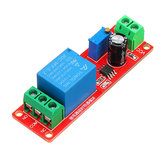 20pcs NE555 Chip Time Delay Relay Modulo Single Steady Switch Time Switch 12V