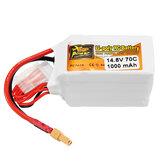ZOP Power 14.8V 1000mAh 70C 4S Lipo Batería XT30 Enchufe para RC Drone