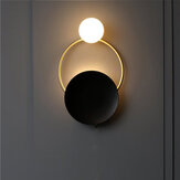 Retro LED Wall Lamp Wall Fixtures Bedroom Hallway Aisle Copper Wall Light 11