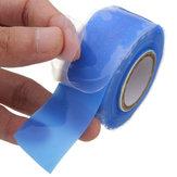 25 mm de ancho, azul, auto fusión, cinta Silicona, cinta de reparación de rescate de emergencia