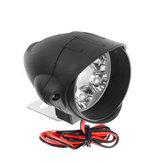 12V-80V 6 LED-koplampen Sterke helderheid Haai vorm Motorfiets Verre verlichting