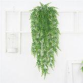 Ivy Yaprak Suni Çicek Plastik Yeşil Bitki Garland Vine Suni Çiceks Duvar Ev Duvar Dekoru için