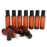 10pcs 15ml Essential Oils Glass Bottle Keep Mini Storage