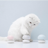 FURRYTAIL Jellyfish Massage Cat Comb Pet Brush from