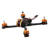 Eachine Tyro109 210mm DIY 5 بوصة FPV Racing Drone PNP w / F4 30A 600mW VTX Caddx Turbo Eos2 1200TVL الة تصوير