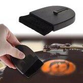 MJ-132 limpeza ajustável Escova para toca-discos LP toca-discos de vinil removedor de poeira portátil limpador para teclado de PC