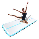 118x39x4inch Inflatable Gym Air Track Mat Airtrack Gymnastics Mat Tumbling Climbing Pilates Pad+Air Pump
