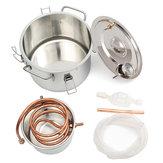 Honana 2GAL / 8L Медь Самогон, этанол, спирт, водный дистиллятор, нержавеющий котел, изготовление Набор