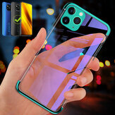 Bakeey for POCO X3 NFC Case Plating Transparent with Lens Protector Shockproof Soft TPU Protective Case Back Cover Non-original