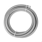 AN3 AN4 AN6 AN8 AN10 10FT 304.8cm Fuel Hose Oil Gas Line PTFE Stainless Steel Braided