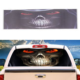 Grim Reaper Death Car Rear Window grafische stickers voor Truck Suv Van