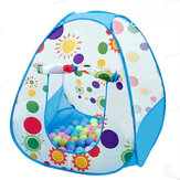 3 In1 Baby Tent Kid Crawling Tunnel Play Tent House Ball Pit Pool Tent for Children Toy Ball Pool Ocean Ball Holder Set