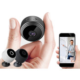 A9 Mini WIFI HD 1080P Wireless IP fotografica Sicurezza domestica Visione notturna 150 ° Grandangolare