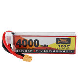 ZOP Power 11.1V 4000mAh 100C 3S Bateria Lipo XT60 Wtyczka do drona RC Racing