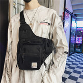 Unisex Oxford Cloth Multifunctional Tactical Reflective At Night Personality Hip-hop Chest Bag Shoulder Bag