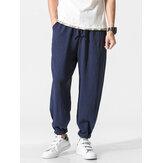 Men's Summer Loose Cotton Linen Pants
