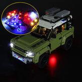 DIY LED ضوء Kit Only for LEGO 42110 Technic Land Rover Defender Car Brick
