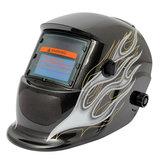 Zwarte Vlam Zonne Automatische Verduistering Welder Las Helm Masker