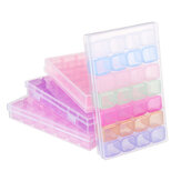 28 Slots Cosmetic Organizer Clear Acrylic Makeup Holder Case Box Jewelry Storage Box