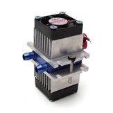 DIY थर्मोइलेक्ट्रिक पेल्टियर सेमीकंडक्टर रेफ्रिजरेशन कूलिंग सिस्टम + फैन किट