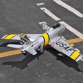 F86 Sabre 1100mm Wingspan 70mm EDF Jet Warbird RC Airplane Kit with Electric Landing Gear