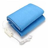 電気加熱毛布140 x 110 cm温度制御タイプ安全で快適な暖かい毛布ホーム