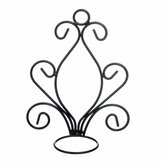 2 Pack Metal Iron Candlestick Wall Hanging Candle Holder Home Decor Ornaments