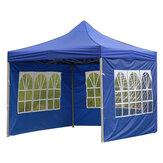 Tendas Oxford à prova d'água Pano de reposição para guarda-sol com parede One Tenda lateral externa Parede lateral sem telhado