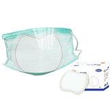 50 sztuk / paczka 3 warstwy Jednorazowe podkładki do masek na twarz Oddychające wkładki filtrujące z izolacją