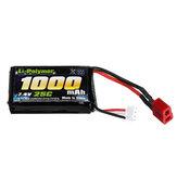 7.4V 1000mah 25C Lipo Bateria Para SG 1601 1602 RC Peças de carro T Parrastar