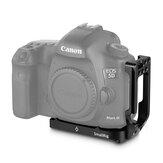 Smallrig 2202 5D Mark 4 Camera L-plaat L-beugel voor Canon 5D Mark IV Mark III Quick Release Arca-stijl cameraplaat voor Vlog Video-opname Fotografie