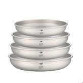 Keith 250/300/400/450 мл титановые тарелки посуда сверхлегкая портативная На открытом воздухе Кемпинг пикник путешествия