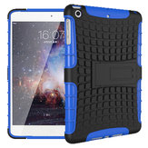 Heavy Duty Anti Skid Bracket Hybrid PC TPU Case For iPad Mini 1/2/3