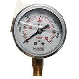 líquido hidráulico de pressão cheia de calibre 0-5000 psi