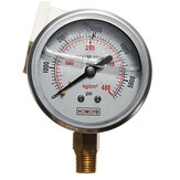 Hydraulic Liquid Filled Pressure Gauge 0-5000 PSI