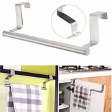 Stainless Steel Towel Bar Holder Kitchen Bathroom Cupboard Rack Hanger