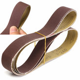 3pcs 762x25mm 240 Grit AL Oxide Abrasive Sanding Belts for Wood Grinding Work