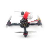 41g Happymodel Crux3 115mm CrazybeeX FR V2.2 F4 AIO ESC 25 / 200mW VTX 1-2S 3 pouces cure-dents FPV Racing Drone BNF avec moteur 1202.5 Caddx ANT 1200TVL Support de caméra Insta360 Go