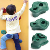 Outdoor Plastic Garden Park Kids Rock Climbing Stone Toys Safety Children Sports Indoor Exercise