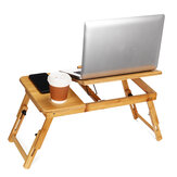 Adjustable Portable Laptop Stand Table Tray for Sofa Bed Notebook Desk