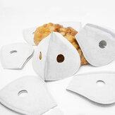 10Pcs 5 Schichten Universalfilter Aktivkohle Anti Staubfilter Für KN95 Gesichtsmaske Einsatzfilter