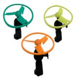 Tirez le petit frisbee volant frisbee modèles tricolores livraison aléatoire jouets éducatifs pour enfants